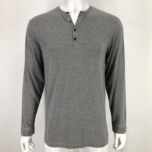 Polo Ralph Lauren L Sleep Pajama Shirt Gray Soft